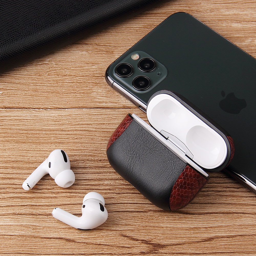 Multi-Colored Leather Case for AirPods Pro 28