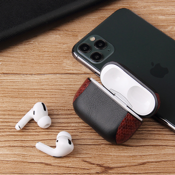 Multi-Colored Leather Case for AirPods Pro 3