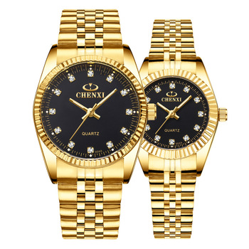 Mens Ladies Watch Waterproof Business Womens Cross-Border Wholesale Gold Couple