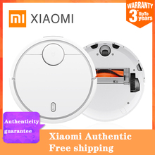 XIAOMI Original MIJIA Robot Vacuum Cleaner for Home Automatic Sweeping Dust Sterilize Smart Planned WIFI App Remote Control 2018 new xiaomi mitu robot smart building block robot 305 bricks bluetooth mobile remote phone app control for xiaomi smart home