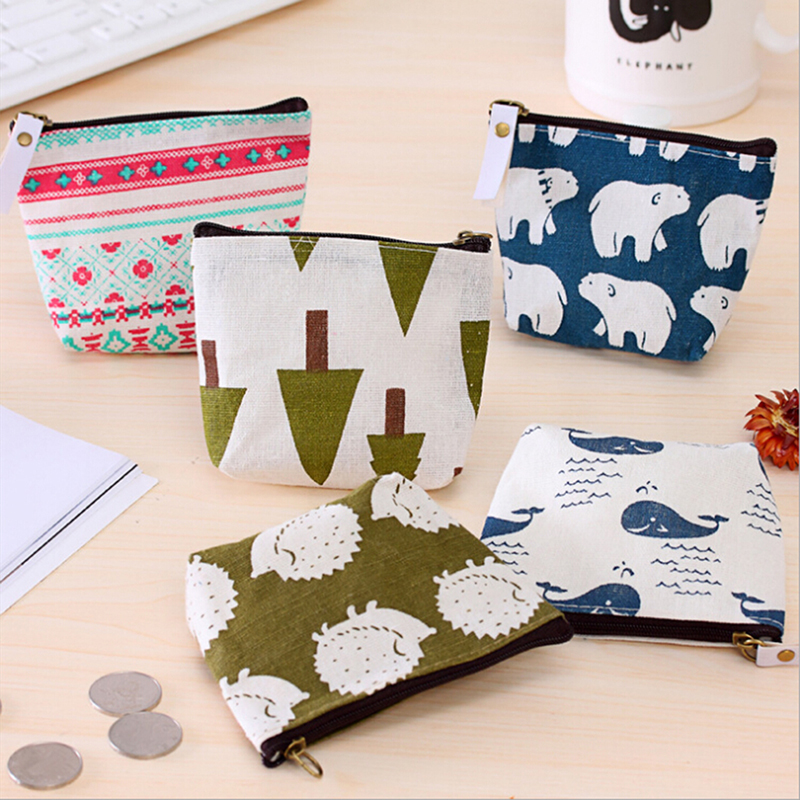 LKEEP Small Cute Cartoon Animal Card Holder Key Bag Money Bags For Girls Ladies Purse Kids Children Coin Purses Women Wallets