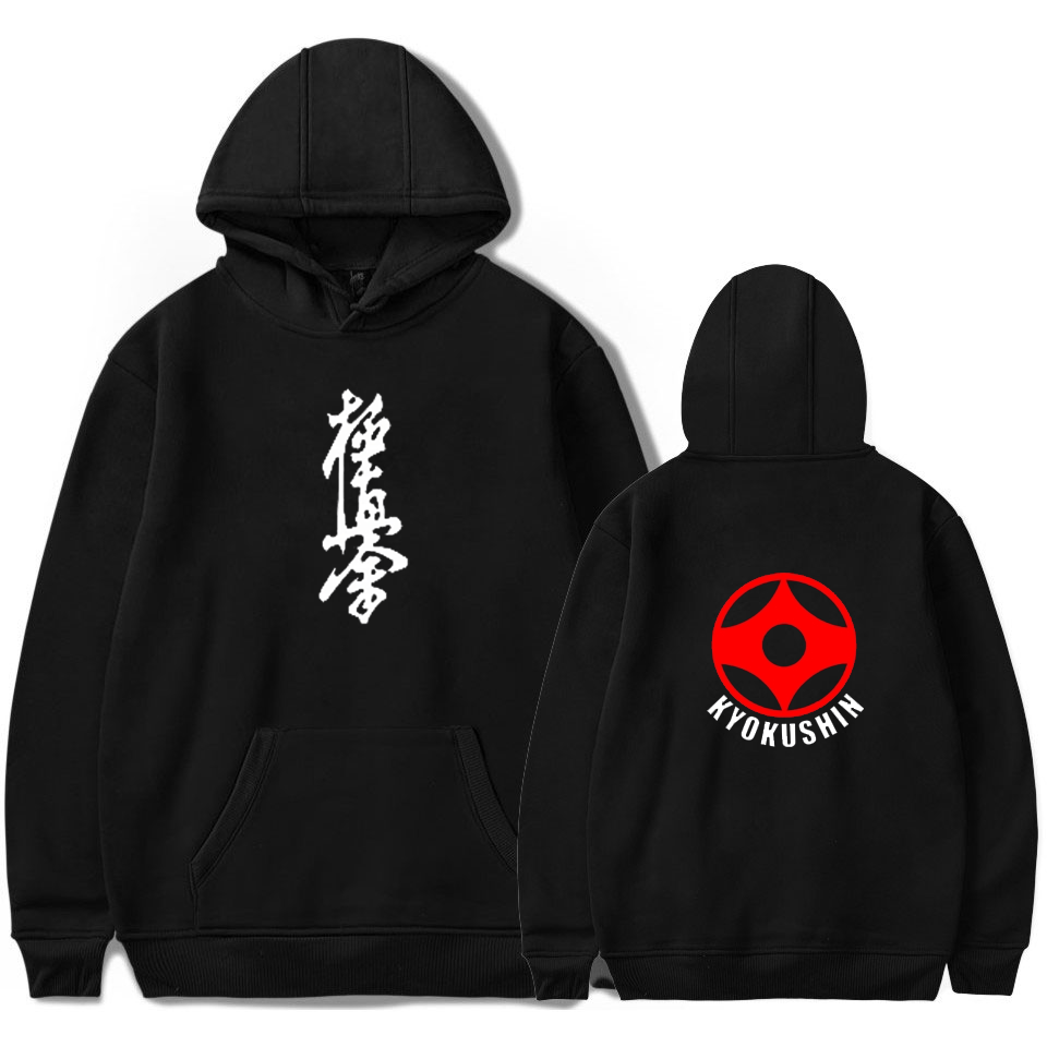 Printed For Kyokushin Hoodies Unisex Harajuku Custom Men/women Masutatsu Oyama Hoodie Japan Tracksuit Kawaii Hip Hop Streetwear