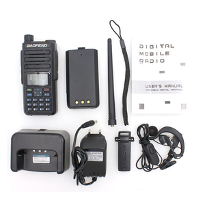 Image 5 - 2020 Baofeng DMR DM 1801 Walkie Talkie VHF UHF 136 174 & 400 470MHz Dual Band Dual Time Slot Tier 1&2 Digital Radio DM1801