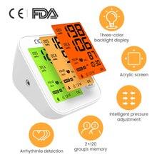 Sphygmomanometer Upper-Arm-Blood-Pressure-Monitor Pulse Digital Heart-Beat Electronic