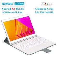 Ветвью ALLDOCUBE X NEO 4 аппарат не привязан к оператору сотовой связи 10,5 дюймов 2,5 K 2560*1600 Super AMOLED Экран ультра тонкий планшетный ПК с системой андро...