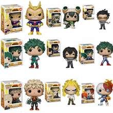 Funko Pop Anime Mijn Hero Academia Karakter Deku & Katsuki & Alle Misschien & Todoroki Tsuyu Leuke Vinyl Figure Collection model Speelgoed(China)