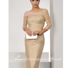 Elegant Champagne Mother Of The Bride Dresses