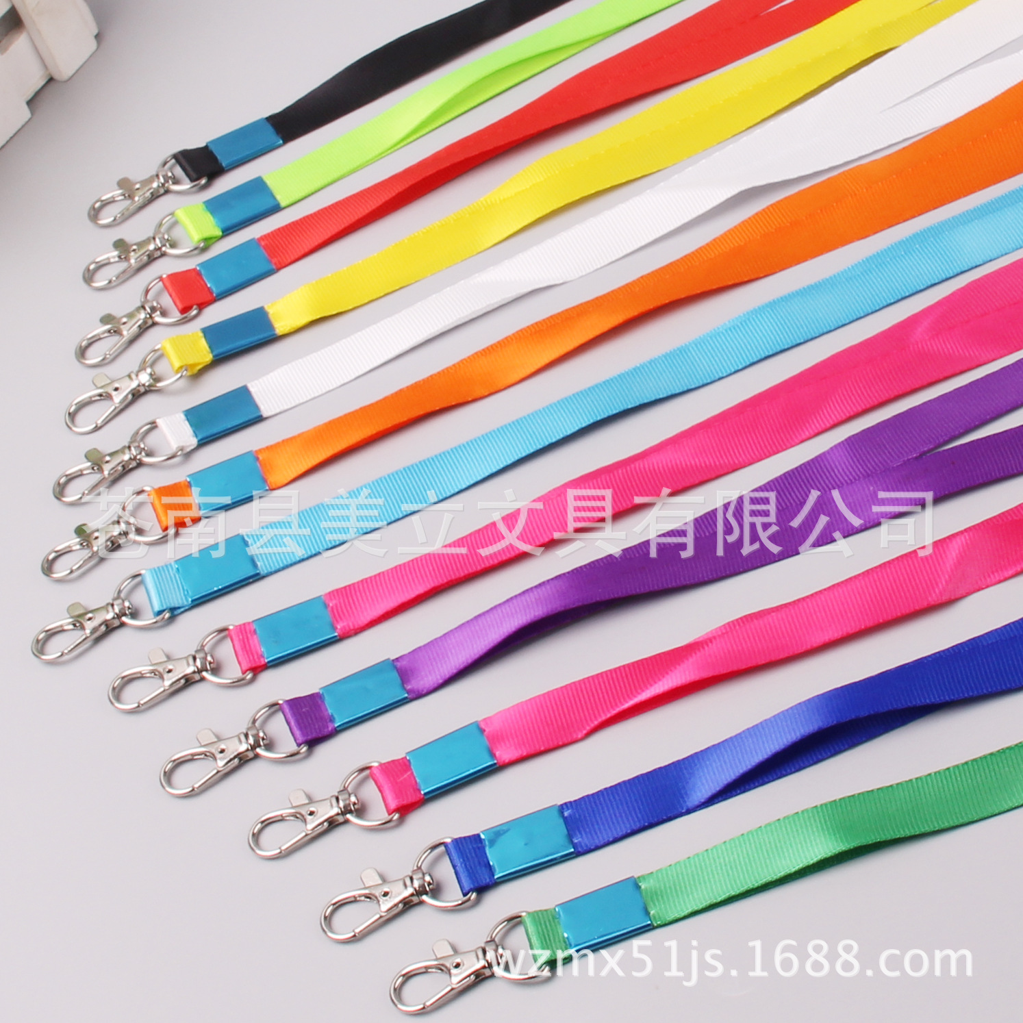 1.5 Cm General Long Xia Gou Documents Lanyard Job Card Lanyard Badge Lanyard Exhibition Work Permit Students Lanyard