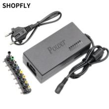 96W uniwersalny Laptop PC Netbook ładowarka zasilająca 110-220v AC do DC 12V/15V/16V/18V/19V/20V/24V Adapter do ładowarki do laptopa