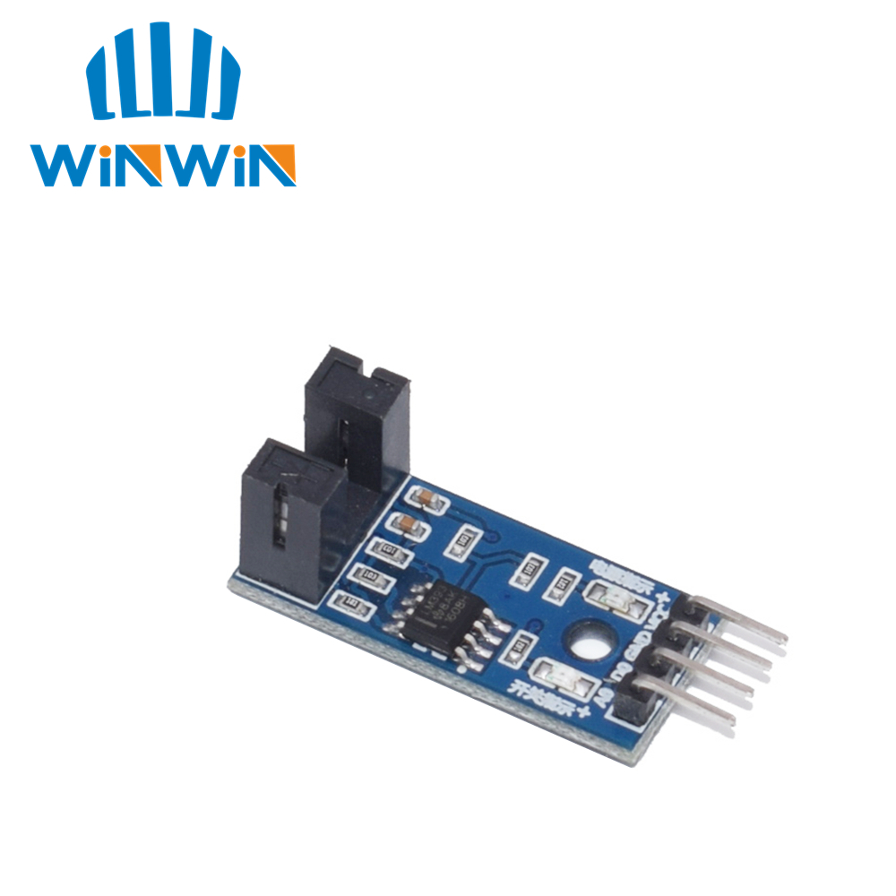 I32 1pcs IR Infrared Slotted Optical Speed Measuring Sensor Optocoupler Module For Motor Test PIC AVR