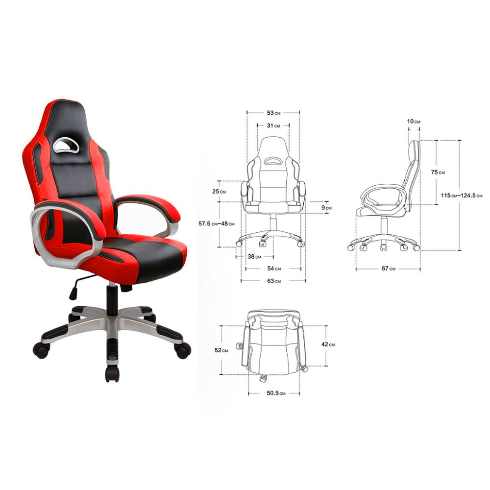 Купить с кэшбэком Gaming Computer Chair Executive chair Ergonomic Office PC Swivel Desk Chairs for Gamer Adults and Children with Arms