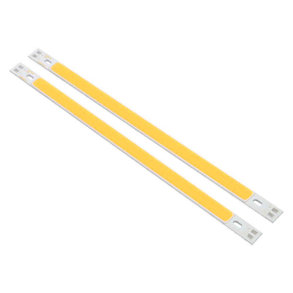 2pcs/Lot Lumiere Led 10W COB LED Strip Lights Bulb Lamp White Warm White 12-14V Suitable For Toy Lights, DIY Lighting