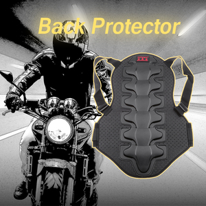 Motorcycle Back Protector Foam Back Protector Racing Anti-fall Vest Protective Gear Motorbike Body Armor Motorcycle Accessories