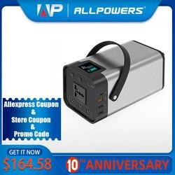 Accumulatori e caricabatterie di riserva 54000mAh esterno Batteria AC/DC/USB/tipo-C Multi-uscita Generatore portatile Per TV Ventilatore Frigorifero Auto Del Computer Portatile ecc.