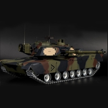 Henglong 1/16 6.0 Upgraded Metal M1A2 Abrams RTR RC FPV Tank 3918 360 Degree Turret Hobby Grade Collection Toys Boys Gifts