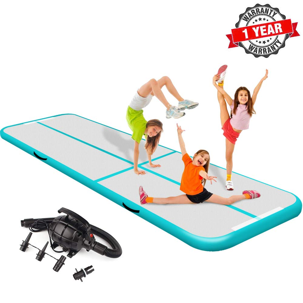 Mini Inflatable Air Track Mat Gymnastics Tumbling Yoga 2m 3m 4m Length Free Shipping With Free CE/UL Electric Pump