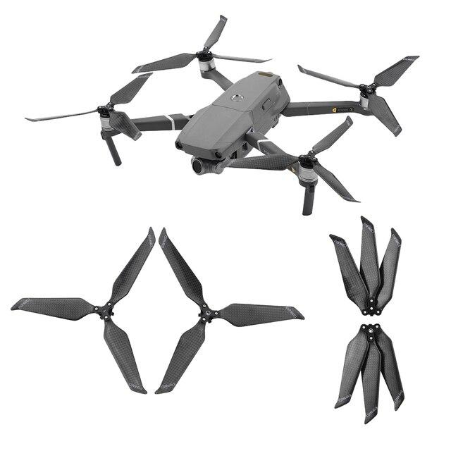 Hélice de fibra de carbono 8743F para Dron DJI Mavic 2 Pro Zoom, accesorios de cuchilla plegable, accesorios de repuesto, 4 Uds.