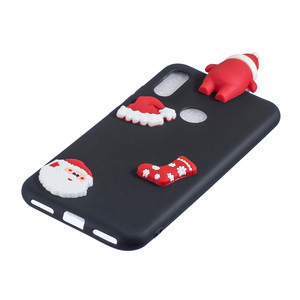 Image 5 - Santa Claus Nette Abdeckung Telefon Fall Für Huawei Y6 Y7 Y5 2018 Fall Für Huawei Y7 Y6 Schutzhülle Y5 y7 Y9 2019 Shell