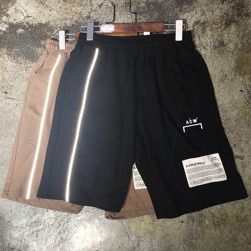 ACW A-COLD-WALL Shorts 3M Reflective Men Women ACW Shorts Casual A-COLD-WALL ACW Short Pants