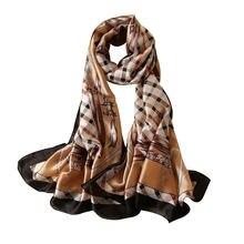 Осень зима 2020 модный универсальный шарф из хлопка и льна шелковый