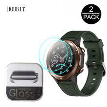 2PCS Tempered Glass For UMIDIGI Uwatch GT Smart Watch Glass 2.5D 0.3MM HD Clear Explosion-proof Scratch Resistant Guard Film(China)