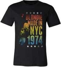 Blondie feito em nyc t camisa s m l xl 2xl novo oficial hi fidelidade mercadoria