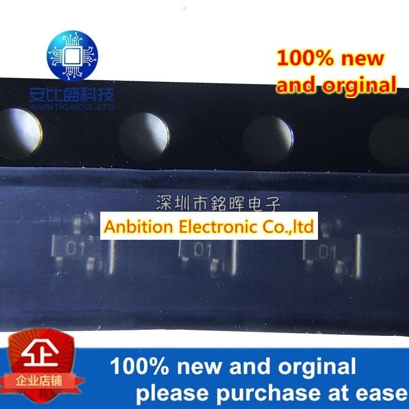 20pcs 100% New And Orgianl PDTA143EE Silk-screen 01 SOT523 In Stock