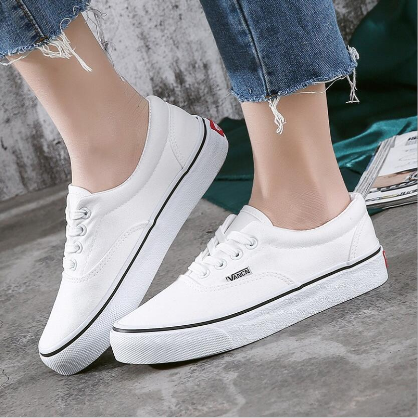Women Canvas Shoes Trainers Girls