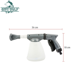 Image 2 - CIty wolf household  high presure washer soap foam gun garden water nozzle car wash soap watering  connect with the water tap