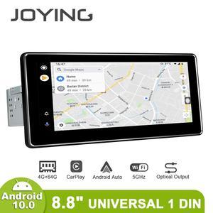Image 5 - 8.8 pouces IPS écran Android 10.0 simple din lecteur dautoradio Octa Core 4 go de Ram + 64 go Rom intégré 4G & DSP module audio stéréo GPS