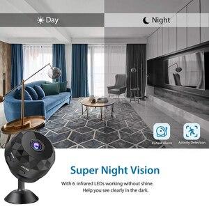 Image 3 - IP Mini Camera Wifi 1080P Night Vision Sensor Motion Camcorder Monitor Phone App Camaras Video Surveillance Thermal Camera New