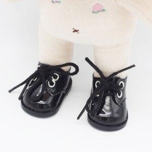 Image 5 - 5.5*2.8cm PU חמוד בובת רצועת 14 אינץ נעליים עבור 1/6 בובת EXO בובות fit 14.5 אינץ ילדה בובות מגפי בגדי אביזרי צעצועי מגפיים