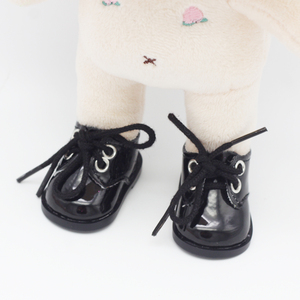 Image 5 - 5.5*2.8cm PU Cute Doll Strap 14 inch Shoes For 1/6 Doll EXO dolls fit 14.5inch girl dolls boots Clothing Accessories toys Boots