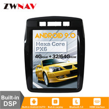 DSP Carplay vertical Tesla pantalla Android 9,0 reproductor Multimedia para auto Volkswagen/VW Touareg 2010 + GPS Radio Estéreo BT Unidad Principal