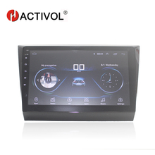 "HACTIVOL 10"" 1024*600 Quadcore android 8.1 car radio for 2016 Lifan Myway Marvell car DVD player GPS Navi wifi bluetooth"