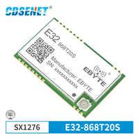 SX1276 868 МГц 100 мВт SMD беспроводной трансивер CDSENET E32-868T20S 868 МГц TTL 2000 м Дальний диапазон LoRa IPEX передатчик и приемник
