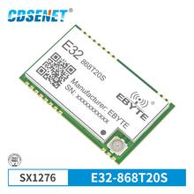 SX1276 868MHz 100mW SMD bezprzewodowy Transceiver CDSENET E32-868T20S 868 mhz TTL 2000m daleki zasięg LoRa IPEX nadajnik i odbiornik tanie tanio Wireless Module 2 3V-5 2V DC E32(868T20S) other