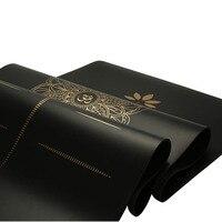 Natural rubber PU yoga mat position line 5mm non slip local luxury mat fitness mat 3.5mm