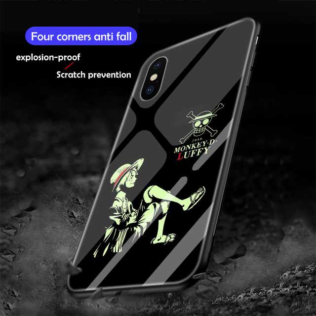 One Piece Luminous Cover For iPhone Models
