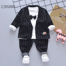 Wedding-Suits Outfits Costume Kids Blazer Formal-Wear Chlidren-Clothing Party-Day Baby