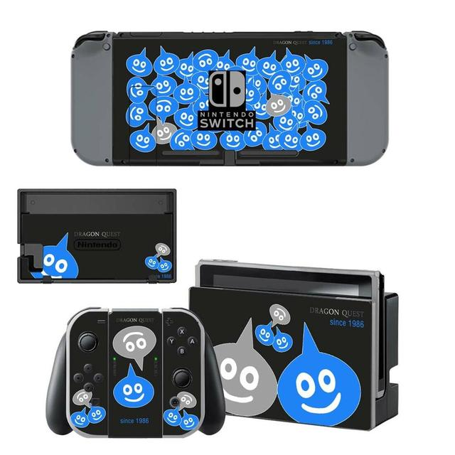 Nintend Switch Vinyl Skin Decal Sticker Wrap for Nintendo Switch Console Joy-Con Dock Skin