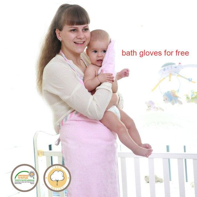 ソフト純粋な綿のバスタオルのためのTHB5強力な吸収親子タオル暖かい幼児フード付きタオル新生児用品