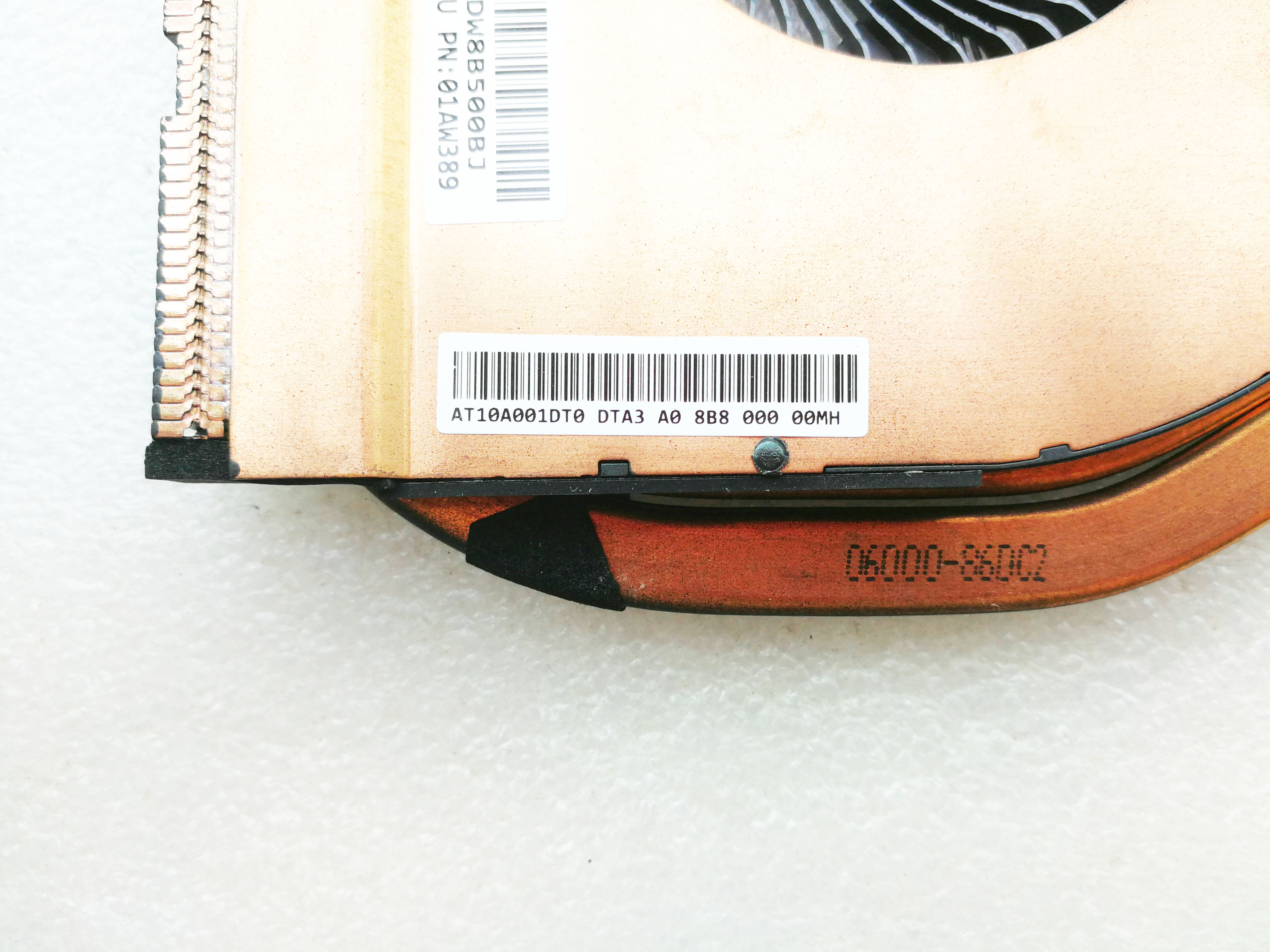 original for Lenovo for ThinkPad T460P T470P 01AW389 fan cooler heatsink AT10A001DT0-in Sound Cards from Computer & Office    2
