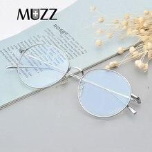 Montura de gafas de titanio puro para hombre, Vintage, redonda, miopía, gafas ópticas de prescripción, nuevas gafas Retro ovalad