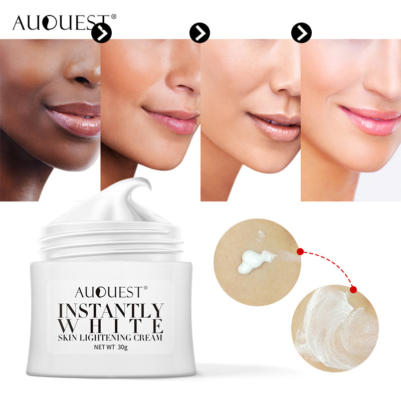 AuQuest Lady Skin Magic Cream Glow Freckles Whitening Cream Tan Plaques Facial Skin Care Brighter Smooth Spot Remover 30g