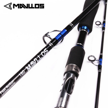 цена на Mavllos Winter Fishing Rod Lure Weight 70-250g Sea Boat Jigging Rod 2.1M 3 Sections Carbon Fiber Saltwater Spinning Fishing Rod