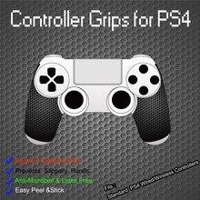 IVYUEEN 1 زوج أسود مكافحة زلة تحكم السيطرة غطاء ل بلاي ستيشن Dualshock 4 PS4 برو سليم التحكم أذكى الحبار قبضة اليد