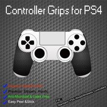 IVYUEEN 1 Paar Schwarz Anti slip Controller Grips Abdeckung Für Playstation Dualshock 4 PS4 PRO Dünne Control Smarter Tintenfisch hand Grip