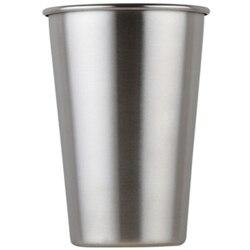 6 Pack 8 uncji kubki ze stali nierdzewnej nietłukące kufel kubki do picia metalowe kieliszki dla dzieci i dorośli srebrny w Kubki od Dom i ogród na
