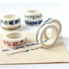 Adhesive-Tape Sticker Label Scrapbooking Sakura-Paper Colorful Cartoon Kawaii DIY of